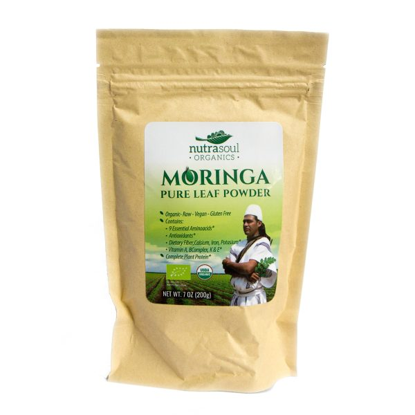 nutrasoul moringa leaf powder