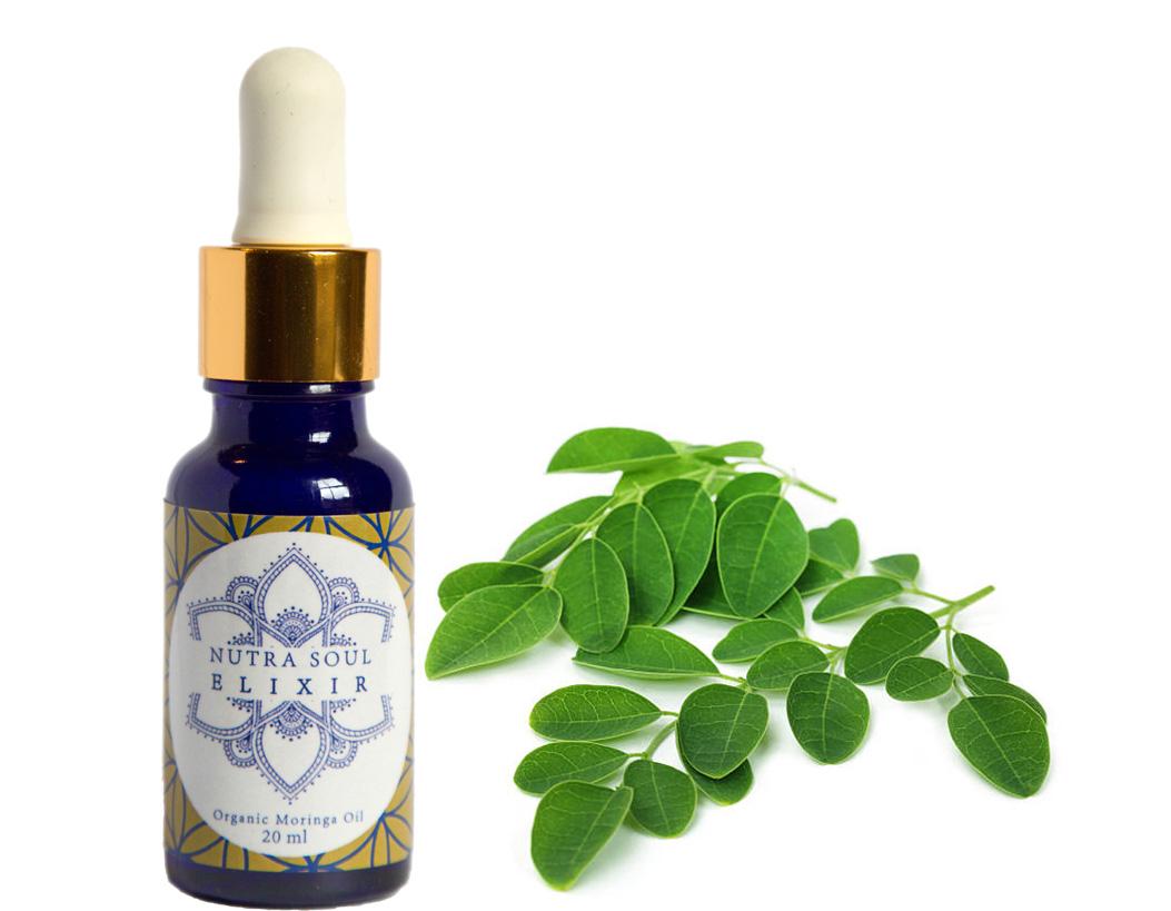 100% pure, nourishing organic moringa oil for body, skin and hair